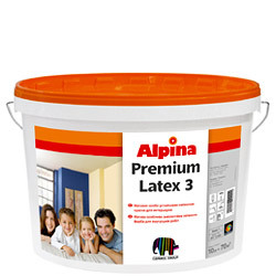 Краска Alpina PremiumLatex 3 (Basis 1) 2, 5л